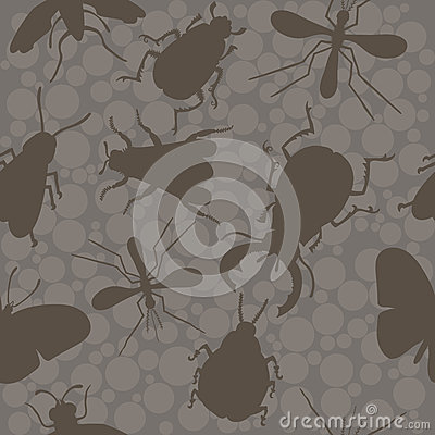 Free Insects. Bee. Beetles. Mosquito. Stock Photo - 70874230