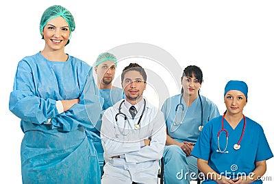 Insegnante della donna del chirurgo