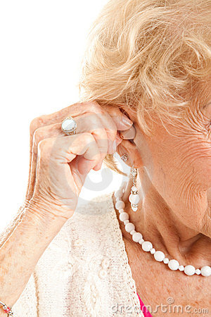 Inserting Hearing Aid