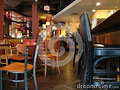 Inside a Bar, Restaurant