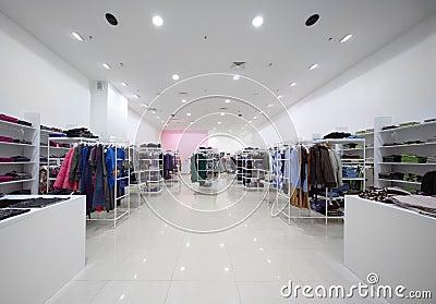 Inside the big shop