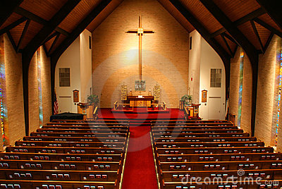 Inside Of A Church Stock Images Image 2126794