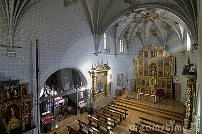 Inside churh