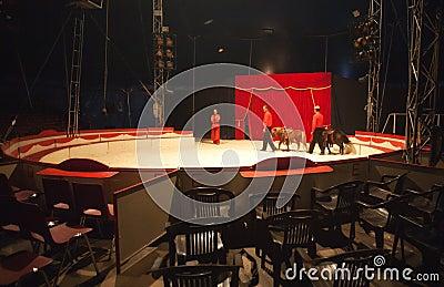 Inside Of A Circus Ten...
