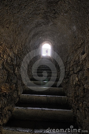 Inside the Citadel of Briançon, French Alps