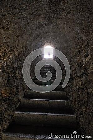 Inside the Citadel of Briançon, French Alps