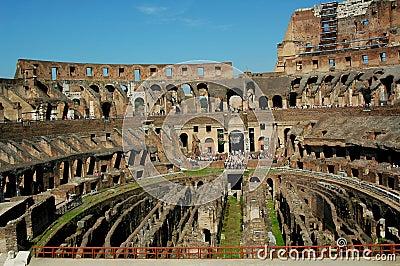 Inside The Coloseum