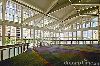 Inside of Convention Center