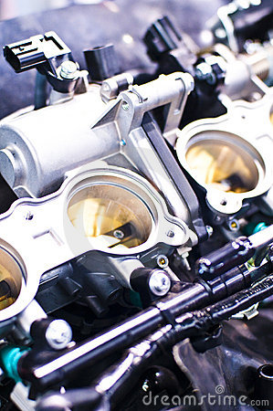Free Inside Details Of A Motorcycle Engine Stock Image - 8928421