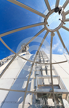 Inside ericsson globe