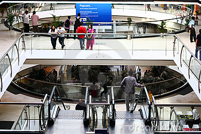 Inside of Forum Mall Bangalore Editorial Stock Image