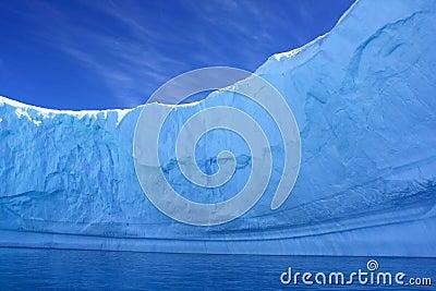Inside an Iceberg, Antarctica