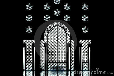 Inside of the II. Hassan Mosque