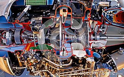 Engine Burning Oil >> Inside Jet Engine Royalty Free Stock Photography - Image ...