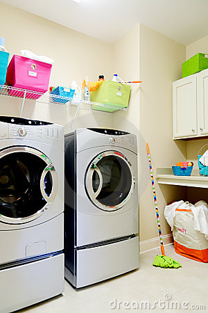 Free Inside Laundry Room Royalty Free Stock Images - 21396179