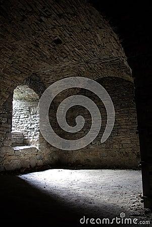 Inside Medieval Cellar