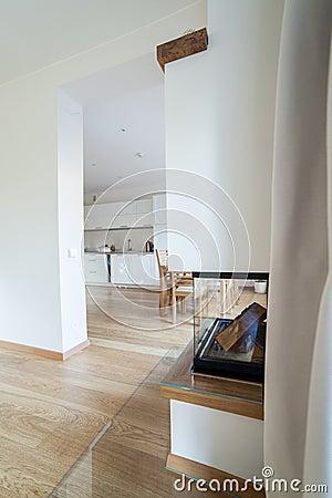 Inside modern house
