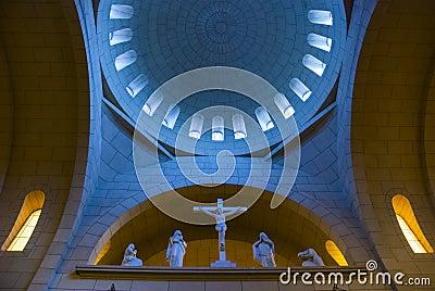 Inside a mother church