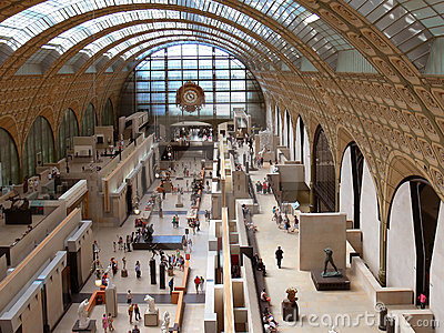 Inside of the Museum D Orsay