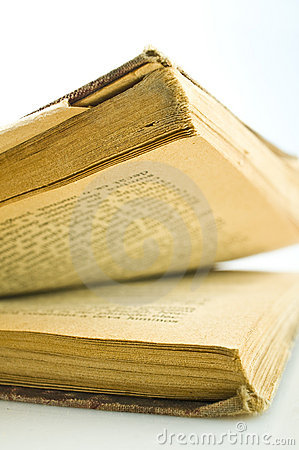 Free Inside Old Book Stock Image - 4845421