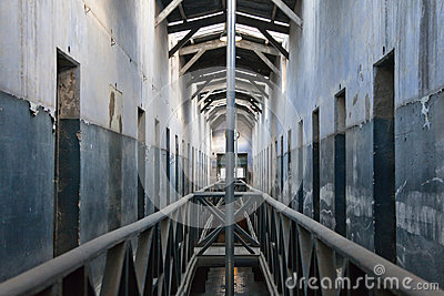 Inside the old prison of Ushuaia