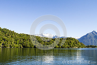 Inside Passage Of The Chilean Fjords