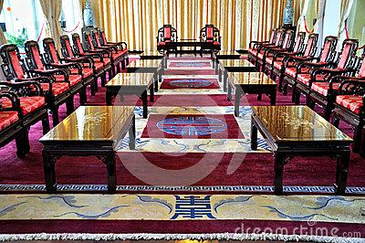 Inside of The Reunification Palace Editorial Image