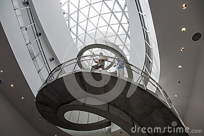 Inside the Salvador Dali Museum Editorial Stock Photo