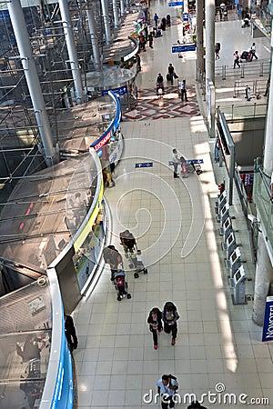 Inside Suvarnabhumi International Airport Editorial Stock Photo