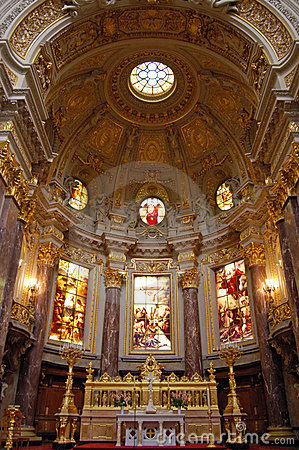Free Inside The Berliner Dom Royalty Free Stock Photo - 1478855