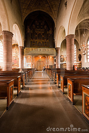 Free Inside The Church. Royalty Free Stock Photography - 9364577