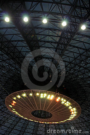 Inside an UFO