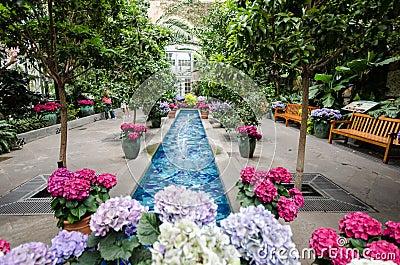 Inside The United States Botanical Garden Royalty Free Stock Photography Image 34556747