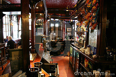Inside View Of A English Pub Stock Photo - Image: 23668860