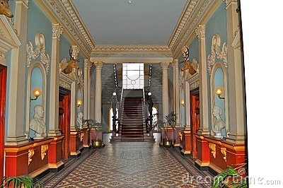 Inside Werribee Mansion Stock Photography Image 4101332