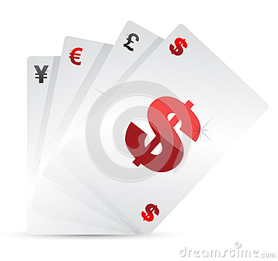 Insieme delle schede di valuta