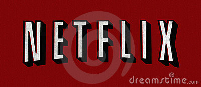 Insignia de Netflix Foto de archivo editorial