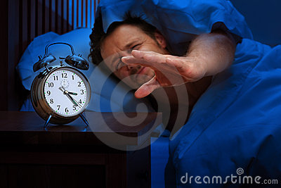 Insomnia or early alarm