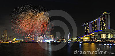 Inspeção prévia da parada 2011 do dia nacional de Singapore Foto Editorial