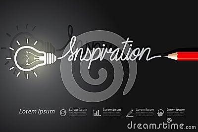Inspiration Vector Illustration