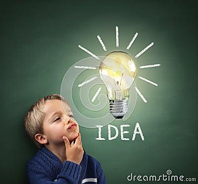 Free Inspirational Idea Royalty Free Stock Photography - 44561937