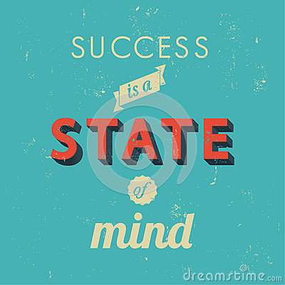 Free Inspirational Quotes In Retro Style Stock Images - 53905214