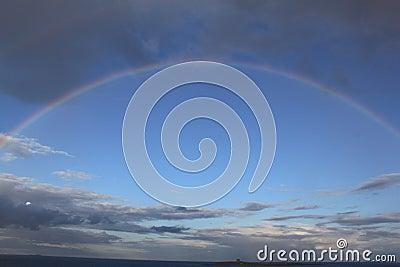 Inspiring Rainbow Portal