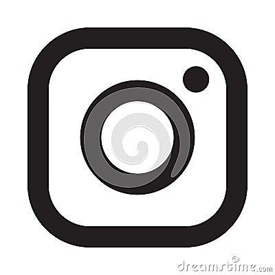 Free Instagram Logo Icon Royalty Free Stock Photos - 128455968