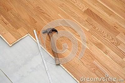 Instalación del suelo