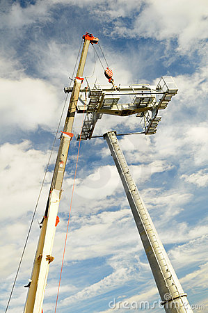 Installation of lifts