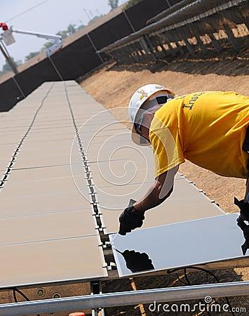 Installation of Solar Panels 2