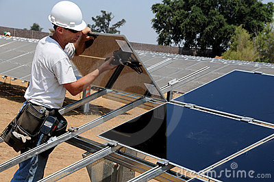 Installation of Solar Panels 3
