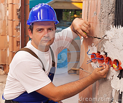 Installing electrical wires