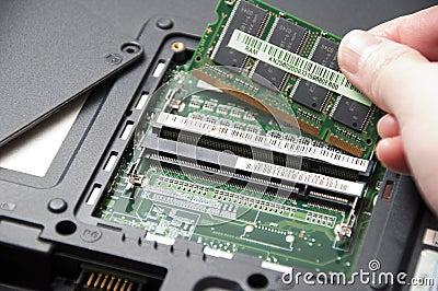 Installing new ram